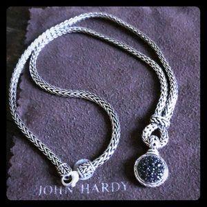 ❗️HP❗️John Hardy Black Sapphire Necklace